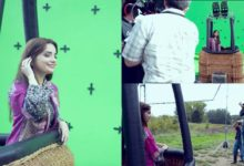 Nishat behind the scene